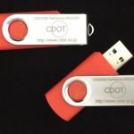 TP501red USBメモリー UVインクジェット印刷